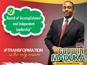 Dr. Godwin Maduka's Economic Blue Prints and Achievements