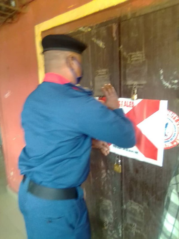 Anambra: NSCDS seals two Private Guard Companies
