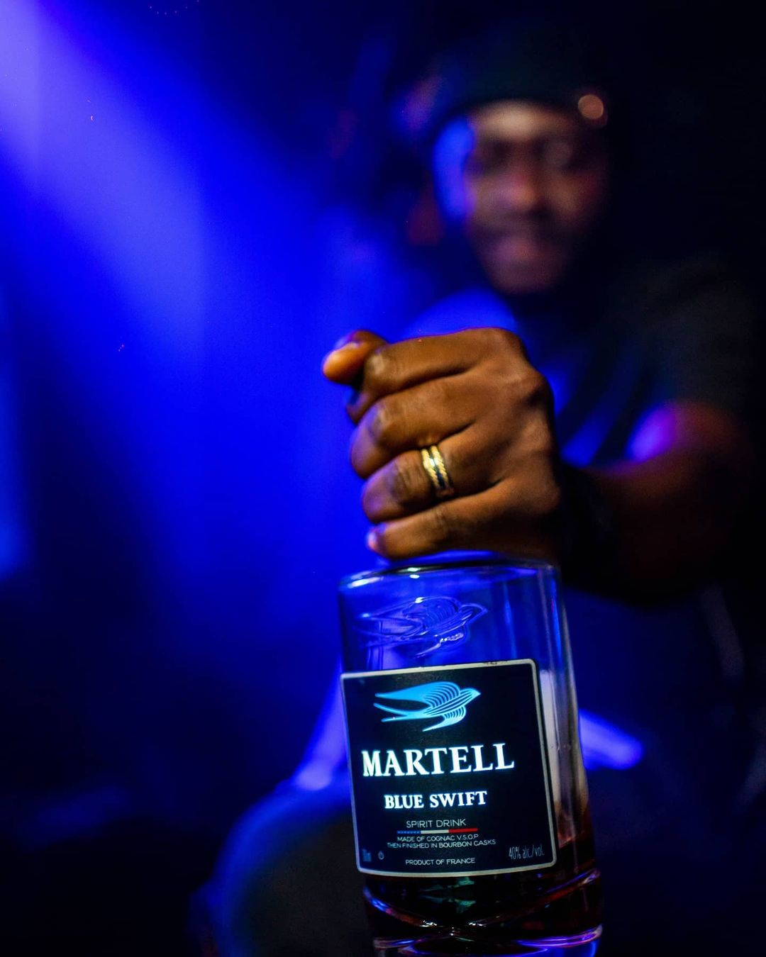 Maison Martell announces Davido as new Ambassador and the face of Martell Blue Swift campaign in Nigeria
