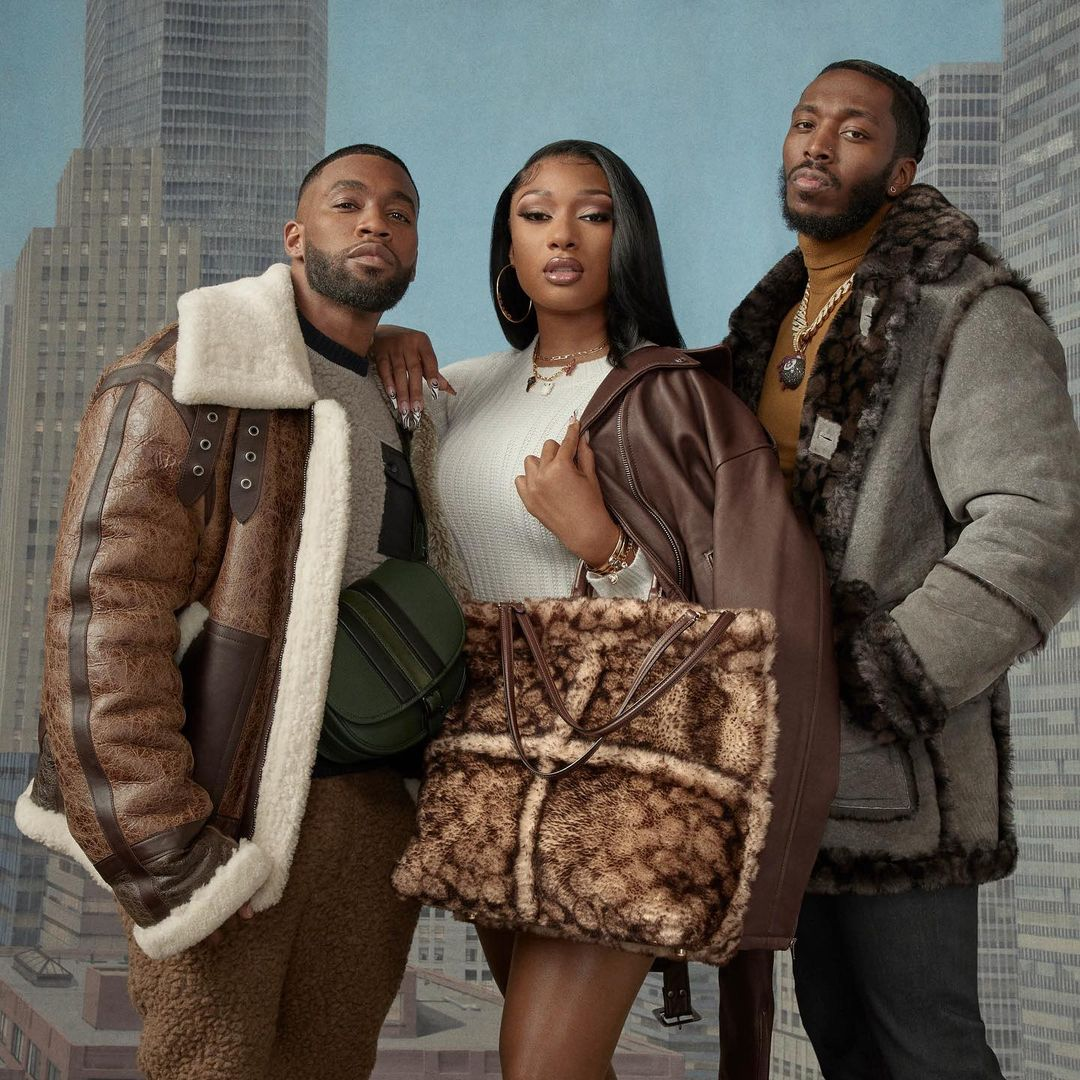 Megan Thee Stallion Stars for new Coach Collab