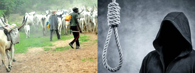 29year-old Ex-student and Farmer to die by hanging for killing Herdsman who tried to Kill him