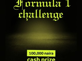 "100K up for Grab as Damibliz activates the ""FORMULA 1"" Challenge"