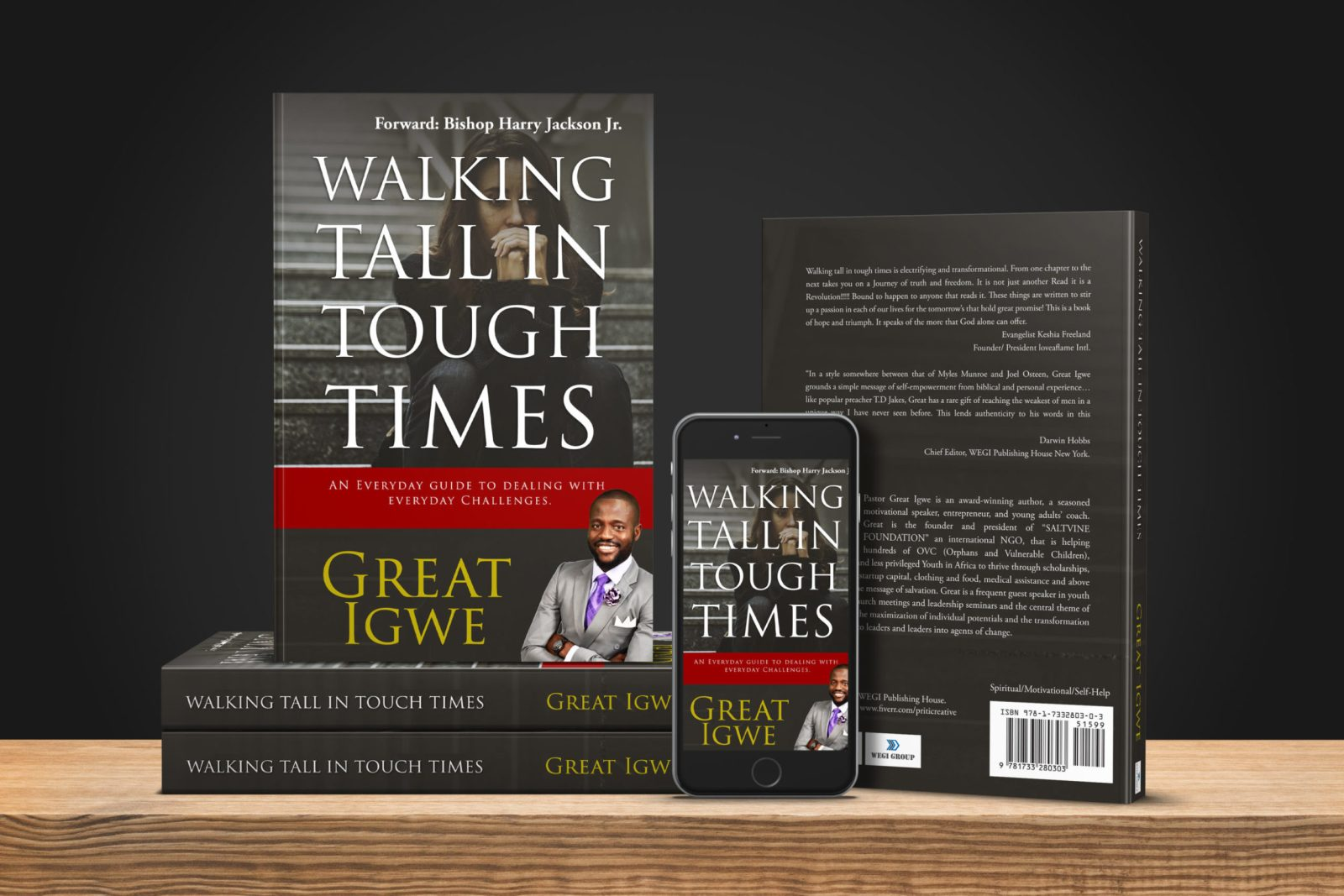 Pastor Great Igwe – WALKING TALL IN TOUGH TIMES (Book)
