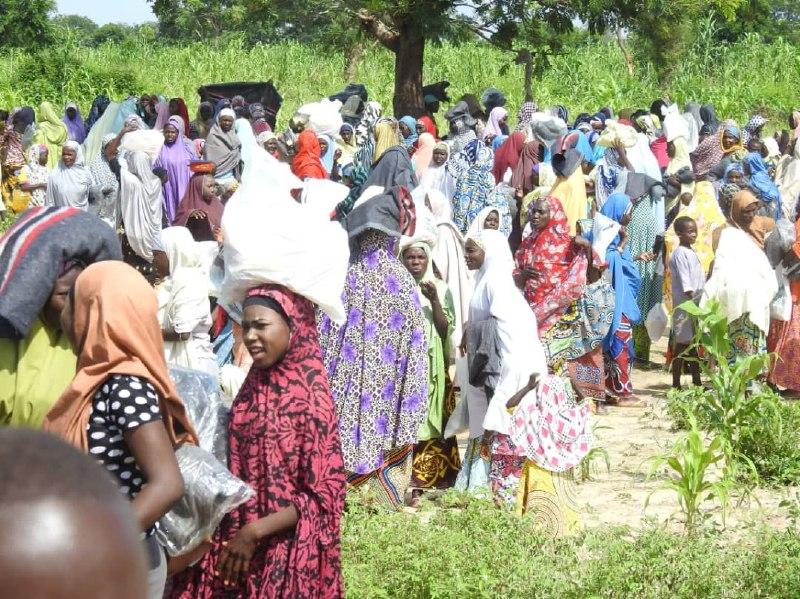Aisha Buhari sends Relief Materials to flood victims accross Nigeria