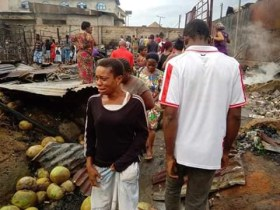 Major loses in Calabar as fire guts Marian Market