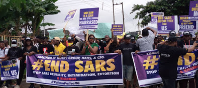 Nigeria: Anti-SARS protest in the South and Pro-SARS Protest in the north, the case of deeply divided Country