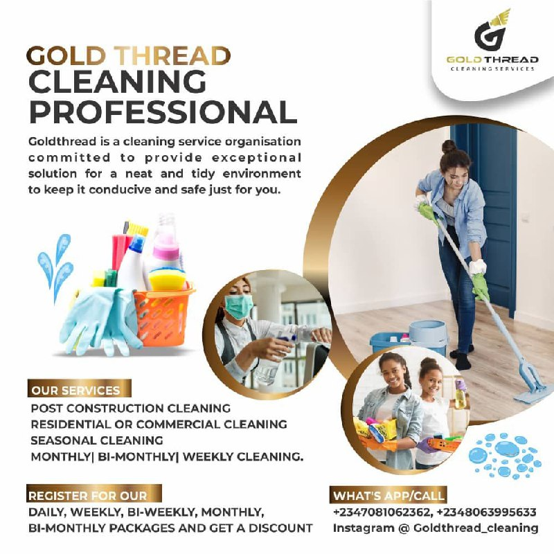 Gold Thread Cleaning Professional