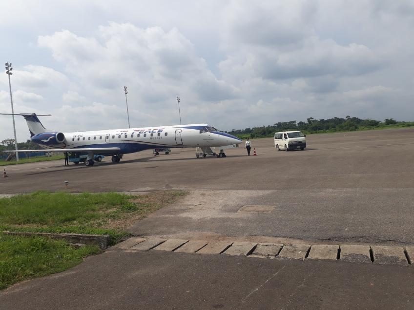 Akure airport shut as hoodlums dig holes on the Runway
