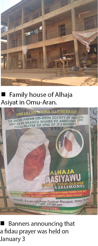 Omu-Aran: Why it took 9days to bury Bishop David Oyedepo's 'Sister In-Law'