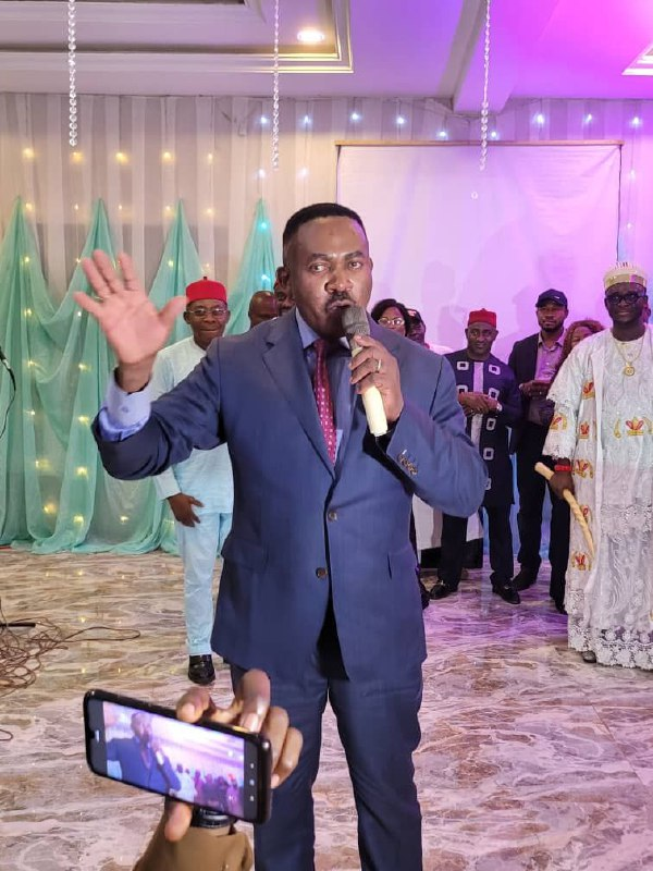 Dr. Godwin Maduka speaks on runnung Anambra with his Personal Income