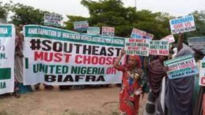 Biafra: Northern group protest in Abuja, demands referendum