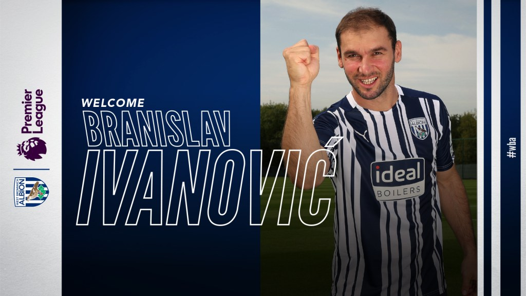 Branislav Ivanovic joins West Bromwich Albion