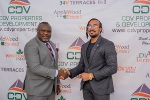 With Bryan Okwara as Ambassador, CDV Properties And Development Limited doubles the standard for Real Estate