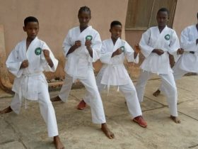Karate: Why 'Catch Them Young' Project - Coach, Moses Odugbo