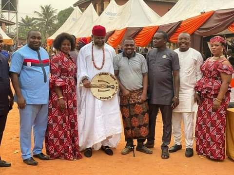 Obika Attends Utonwanne Age Grade Outing, Ogbunike