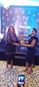 Chief Obiaruko Honoured At the African Women Industrialization Award Ceremony