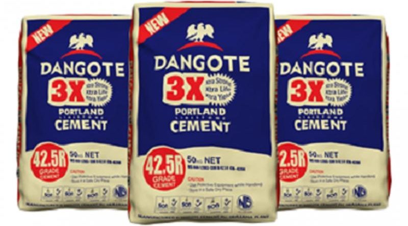 Dangote Cement grows profit by 135% in the Q3 2020