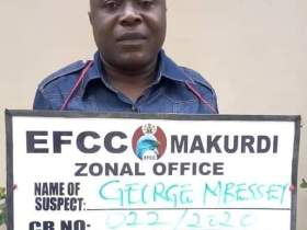 George Mbessey arrested by EFCC for alleged N449.5m Fraud