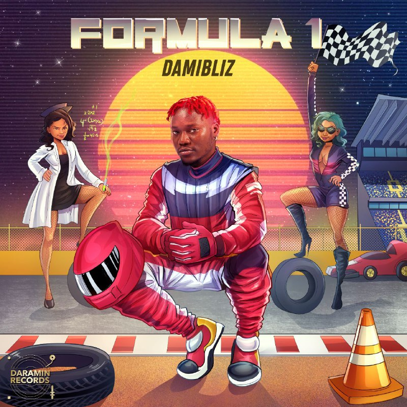 """The artiste Damibliz has released another single titled """"Formula 1"""". Like most Naija songs in the Afropop and Afrobeat genre, it's a fast-paced song with a very danceable beat. So it definitely satisfies the needs of those who are just looking for a club atmosphere in which to dance away their worries and stress after a hard day at work."""