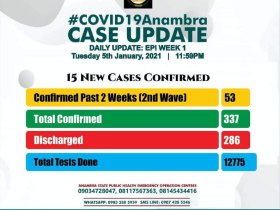 Gov Obiano Expresses Worry Over 2nd Covid-19 Wave