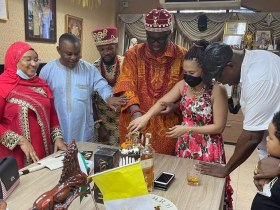 I will continue to lend my voice for Nnamdi Kanu, King of Six Nations says as he celebrates Birthday and New Yam Festival