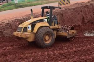 Obaseki revs construction work on Ekehuan road; contractor returns to site