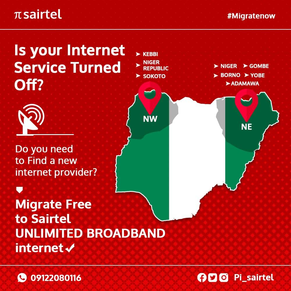 Sairtel: A Truly Unlimited Internet Broadband Service now in Nigeria