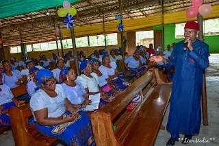 AUGUST MEETING: Dr. Godwin Maduka visits Catholic Church in Onitsha