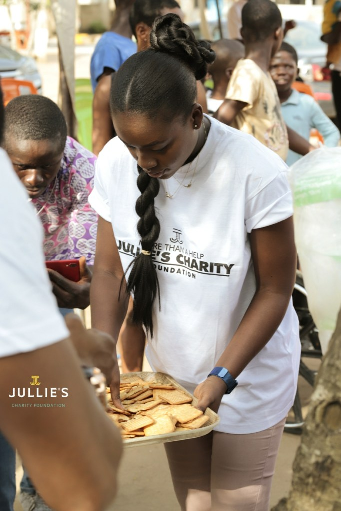 Jullie Jay-Kanz Donates Items To Royal Seed Orphanage Home