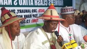 Amotekun, Ebube Agu Set Up Kill Fulani – Miyetti Allah