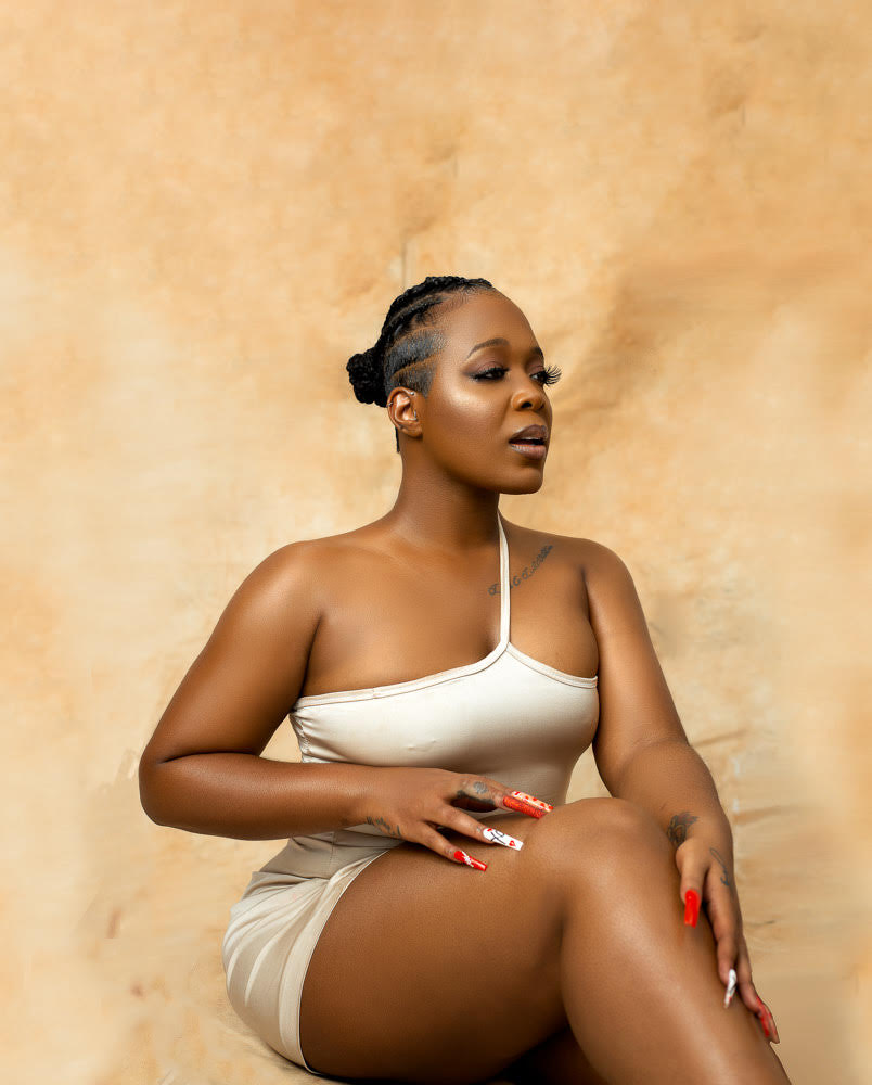 """Moet Abebe channels """"Inner Goddess"""" in Valentine's themed Photoshoot"""