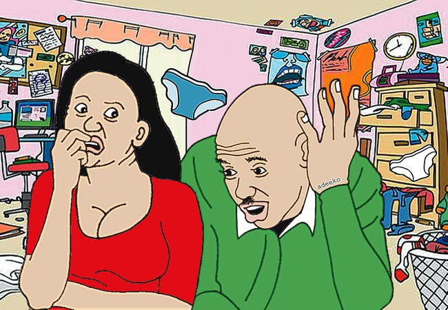 My husband stole my pants, used them for evil purpose - Woman