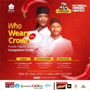 Foodie Nigeria National Cooking Contest