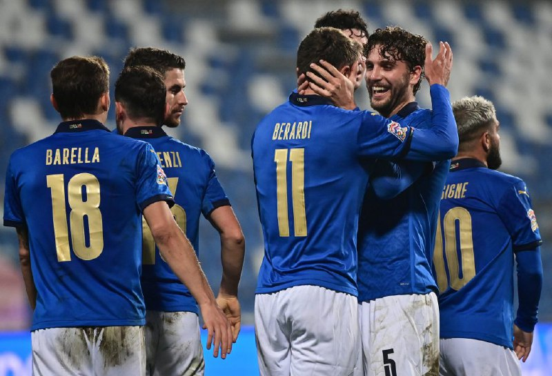 Nations League: Italy defeat Poland 2-0