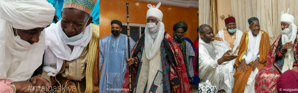 Sanusi confirmed as leader of Tijaniyya Islamic sect, turbaned in Senegal