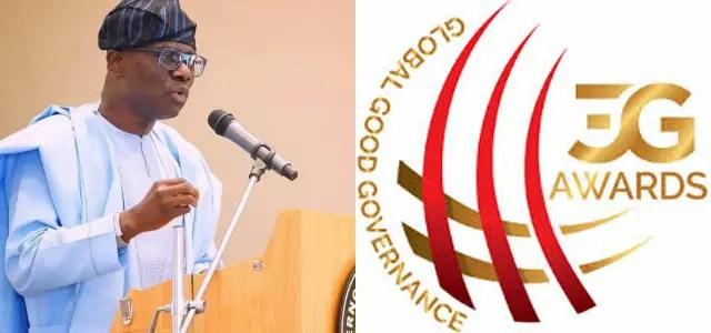 Sanwo-Olu excluded from Global Good Governance Award (3G Awards)