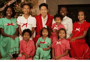 African -Korean Family