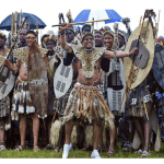 Why the Zulu tribe don't bury but plant their dead king