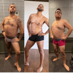 Will Smith begins the #thebigwilliechallenge for men with big stomach