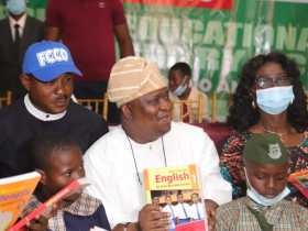 Education, the only weapon to tackle Insecurity, Restiveness - Sen Solomon Adeola