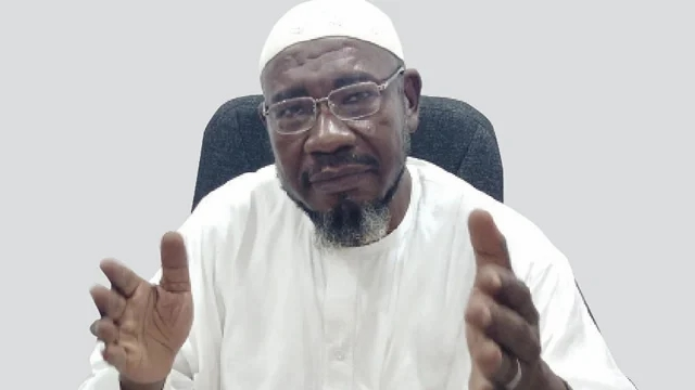 We've been praying for Buhari but can't see result – Sheikh Khalid, Chief Imam, Apo Legislative Quarters Juma'at mosque