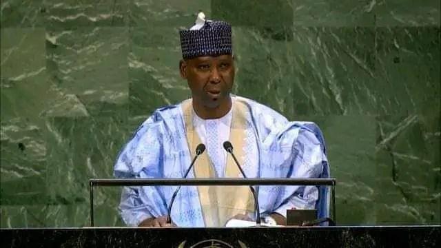 Tijani Muhammad-Bande steps down as UNGA President
