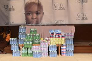 Gifty Louise celebrates birthday with Dzorwulu Special School - Gbetu TV