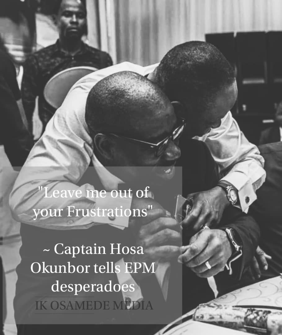 Capt. Idahosa speaks on Smear Campaign and Character Assassination