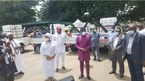 Ooni of Ife donates two Motorised Modular Fumigators to Edo govt