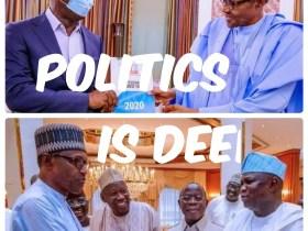 As Obaseki finally meets Buhari, many remember Ambode