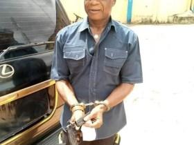 ANAMBRA BILLIONAIRE, Chief NWEKE ARRESTED WITH GUN
