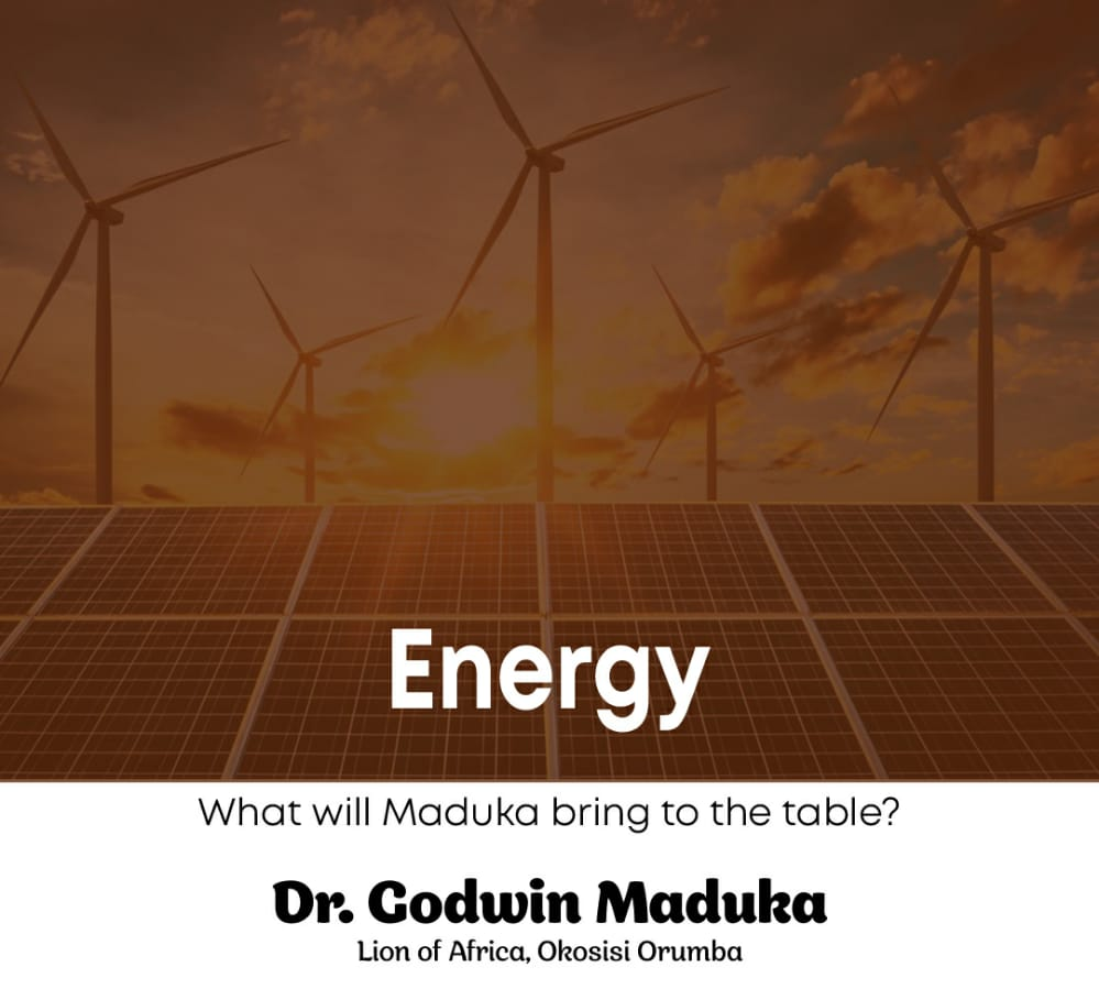 LET THERE BE LIGHT: A case study of Dr. Godwin Maduka's declaration