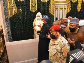 Lesser Hajj: Buhari prays for Everlasting Peace in Nigeria
