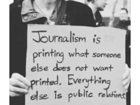 You can't hide under Activism to practice Journalism